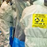 Retirada de amianto friable mediante el método de burbuja de contención glove-bag